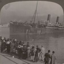 Under the Shadow of Table Mountain; South Africans Off To War - WW1 Stereoview