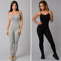 Women Sport Gym Yoga Jumpsuit Running Fitness Bodysuit Leggings Athletic Pants