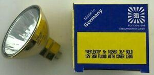 BLV GOLD Backed reflecto 12V 20W 36º M269 BAB GLASS fronted 12 Volt 50 Watt AJ5