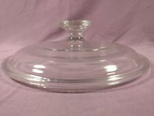 """Clear Glass Replacement Dish Lid Pyrex 3 G-5-C 7 1/8"""" dia Circle  #37"""