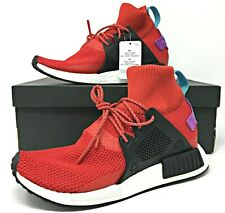 Adidas NMD XR1 Winter Mens Running Boost Shoes Scarlet Red/White BZ0632 $170