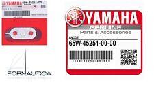 ANODO PIASTRINA ORIGINALE PER FUORIBORDO YAMAHA 65W-45251-00 PER 40/60 HP.