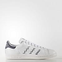New Adidas Original Womens Stan Smith Zig Zag BZ0402 WHITE/BLUE US W 5 - 8 TAKSE