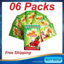 6 Packs Hoang Yen 3D Jelly Powder - The Best For Jelly Art Cake - Free Shipping