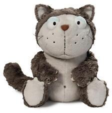 Nici Comic Cats Katze Lazy grau 25cm Schlenker Plüsch Kuscheltier Geschenk 39024