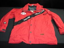 "Ski Patrol jacket red ""Squaw Valley"" USA  Men's Sz Large Rubicon Sports ~ 5411"