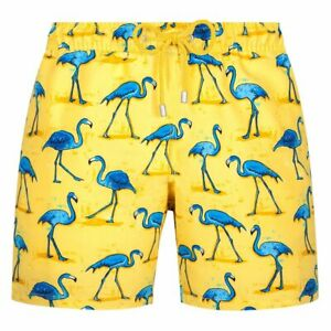 Men's Swimming Shorts Trunks Printed Quick Dry Mid Length Sports Surfing ST02