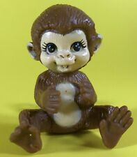 BARBIE DOLL DOLLHOUSE MINIATURE ACCESSORY ZOO SAFARI MONKEY ANIMAL FIGURE ONLY