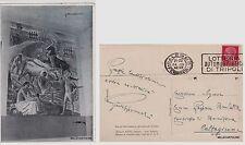 # BORGO AMERIGO FAZIO (TP) CASA DEL P.N.F. - AFFRESCO DI AMORELLI  1942