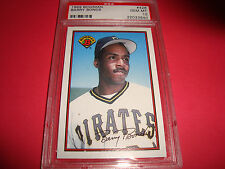 Bowman Barry Bonds Pittsburgh Pirates Baseball Cards For