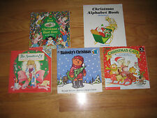 Lot of 5 Winter Childrens books picture Christmas Winter Snow Scholastic AR