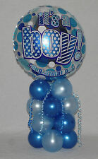 BIRTH - BOY - BLUE -  FOIL BALLOON DISPLAY - TABLE CENTREPIECE