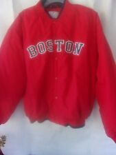 Boston Red Sox MLB Genuine Merchandise Red Bomber Jacket Size XL