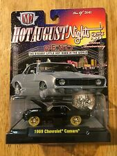M2 Machines 1969 Camaro  Mule SUPER CHASE 1 of 24 Black & Gold Signed by Workers