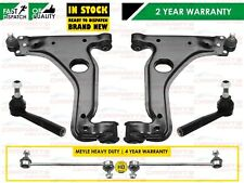 FOR VAUXHALL ZAFIRA A FRONT LOWER WISHBONE ARMS TRACK ROD ENDS MEYLE HD LINKS