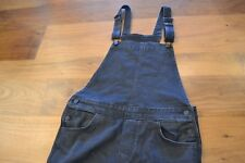 Womens Levi Overalls washed black S
