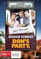 Don's Party | Classic Australian Films (DVD) Graham Kennedy NEW/SEALED