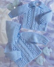baby / boys jackets dk knitting pattern