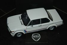 1/18 BMW 2002 TURBO white with silver wheels Kyosho SUPERB!! 1/18 SEE INFO