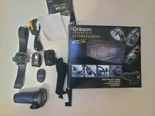 Oregon Scientific Helmet & Bike Mounted Action Cam Video Camera ATC 5K