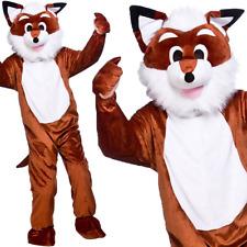 Adult Mens Unisex Fantastic Mr Fox Mascot Costume Book Week Animal Fancy Dress
