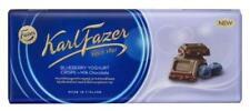 Karl Fazer  milk chocolate with blueberry  190g 6.7oz 1 bar