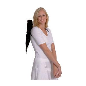Flügel Engel mit Federn ca. 50 x 50 cm, schwarz