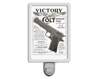 "1910s Colt Firearms 1911 Advertisement 4x6"" Photo Night Light"