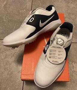 New Nike VaporPro BOA Technology Golf Shoes Navy/White AQ1790-101 Men's Size 9.5