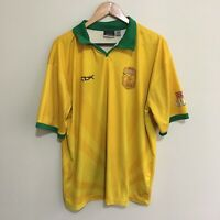XXXX Gold Reebok Australia Beach Cricket Official Polo Shirt Mens XL
