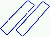 RPC Blue Rubber SB Chevy Valve Cover Gaskets Pair R7484X