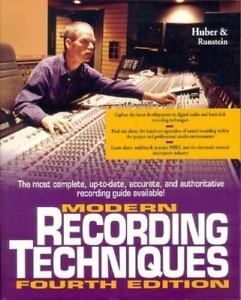 Modern Recording Techniques by Runstein and David M. Huber (1997, Paperback, Re…