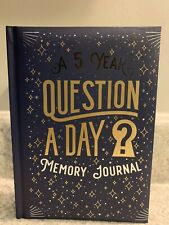 A 5 Year Question A Day Memory Journal