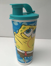 Tupperware Spongebob Squarepants 16-oz Tumbler w/ Pour Seal Brand New