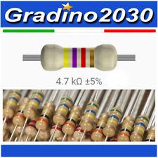 Resistenza Resistore 2K2 2,2Kohm 1//4W 5/% carbone lotto di 25 pezzi