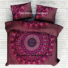 Indian Duvet Doona Cover Comforter Mandala Hippie Bohemian Queen Quilt Cover Set