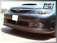 STI Type Carbon Fiber Front Bumper Lip For 2008- 2010 SUBARU IMPREZA GRB WRX STI