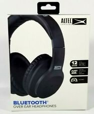 Altec Lansing Bluetooth Over Ear Headphones MZX301 Black w/Built-in Microphone