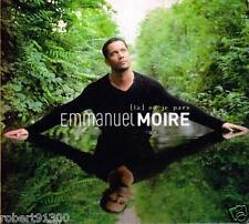 CD audio.../...EMMANUEL MOIRE..../...LA OU JE PARS../.....