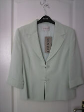 Minuet 100% Silk Jacket & Skirt With Sleeveless Top. Size 12/14