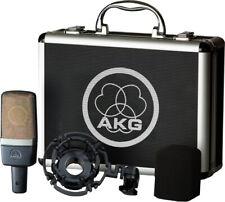 AKG C214 Professional Large-Diaphragm Condenser Microphone - Black (3185X00010)