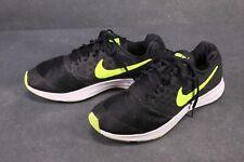 Sb401 nike downshifter 7 cortos calzado deportivo negro amarillo talla 39 zapatillas