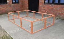 9 Aviary panels Run Rabbit, Guinea pig, Cat, Dog, Chickens, Birds, Pets etc.