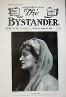 Old Antique Print 1905 Portrait Photograph Miss Beryl Faber Woman Theatre 20th