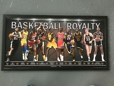 BASKETBALL ROYALTY - LTD ED - RRP $350 - JORDAN-KOBE-LEBRON-BIRD-JOHNSON- 0'NEAL