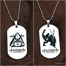 Horizon Zero Dawn Necklace Pendant Double Sided Dog Tag Gaming Jewellery UK