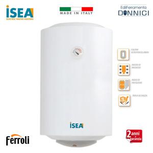 ISEA Scaldabagno elettrico verticale 80 litri boiler scaldino scalda acqua bagno