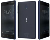 "Brand New Nokia 3 16GB 4G LTE 5"" LCD 8MP 2GB Ram Unlocked Android Smartphone UK"