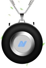 NULIPAM Personal Air Purifier Necklace, Wearable USB Portable Mini Air