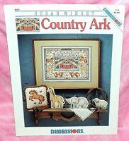 Dimensions Susan Winget Country Ark Cross Stitch Chart Leaflet Noahs Ark Animals
